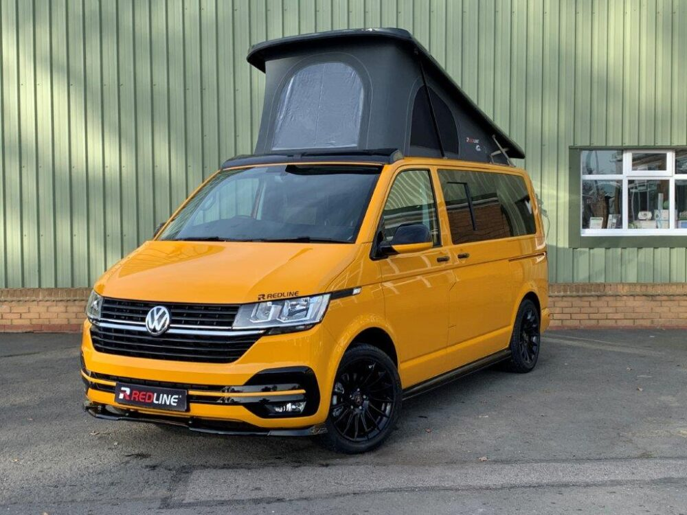 redline campervan orange