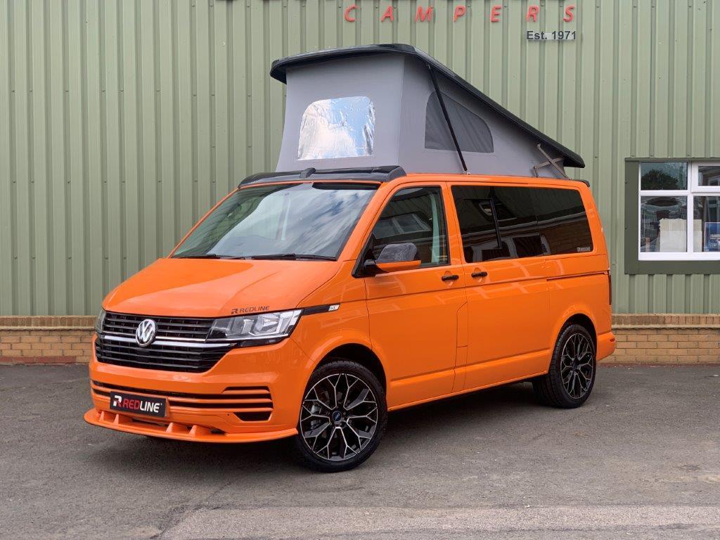 VW-T6.1-Redline-Sport-camper-in-Bright-Orange-with-Gloss-carbon-Fibre-CF21-ODT-36.jpg